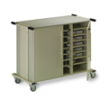 Laptop Cart - 24 Unit Capacity
