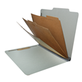 Classification Folder Top Tab  2032 Series Letter Size Pocketed  Inner Panels (3)