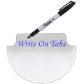 Write On Reinforced  Index Tabs  3004 Series