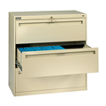 "Three Drawer  Lateral File - 30"" Inch Width 4020 Series"