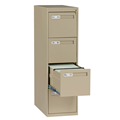 Vertical File 4 Drawer Cabinet 4022 Series
