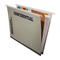 Physician Credentialing Folder Hanging/Dividers W/Pocket