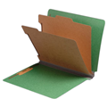 Classification Folder End Tab  2037 Series Letter Size 2  Inner Panels