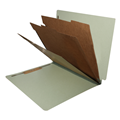 Classification Folder End Tab  2038 Series Letter Size 3 Inner Panels