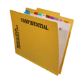 Physician Credentialing Folder Unit Top Tab 2200 Series