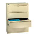 "Four Drawer  Lateral File - 30"" Inch Width 4020 Series"