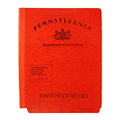 Correctional Folder - State of Pennsylvania